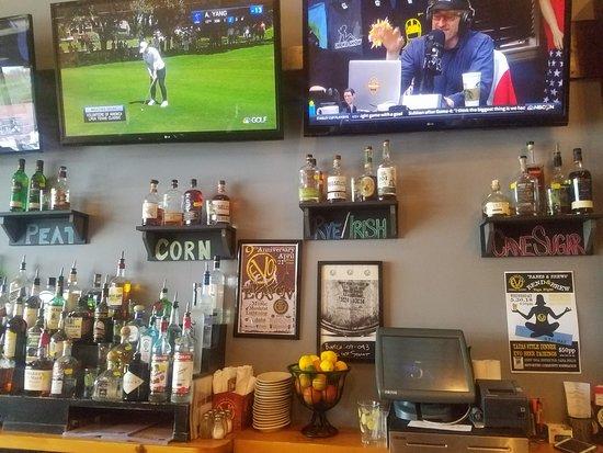 Evolution Craft Brewing Company: Sports bar tavern