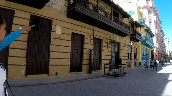 Calle Obispo: Oldest house in Havana