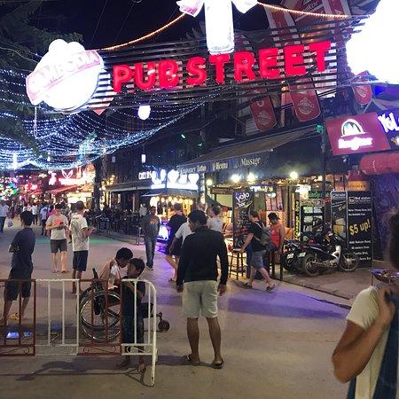 Pub Street ภาพถ่าย