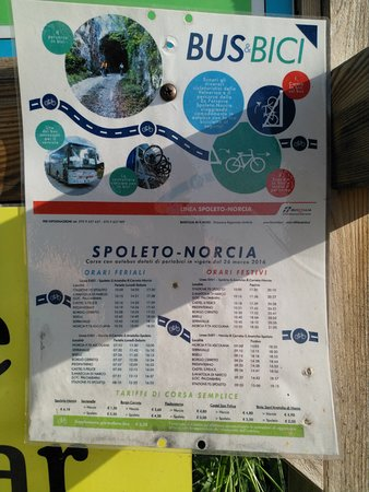 Ex-Ferrovia Spoleto-Norcia照片