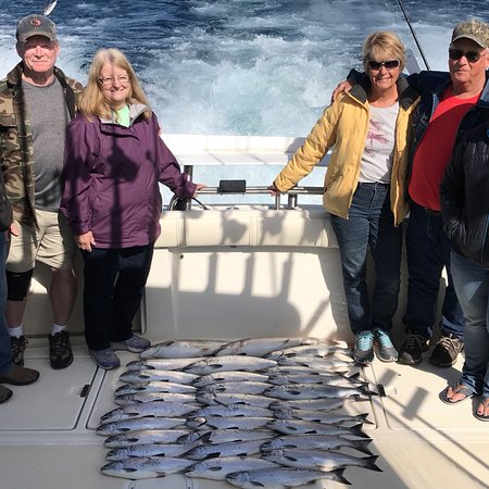Kinn's Sport Fishing : Some highlights of our 2018 spring Coho season!