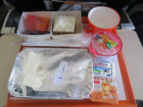 Druk Air: อาหารบนเครื่อง รสชาติ อร่อยดีครับ เน้นเพื่อสุขภาพครับ