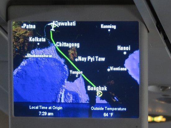 Druk Air : แผนที่การเดินทางจะเป็นแบบนี้ครับ