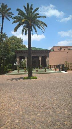La Mamounia Marrakech: il cortile di ingresso