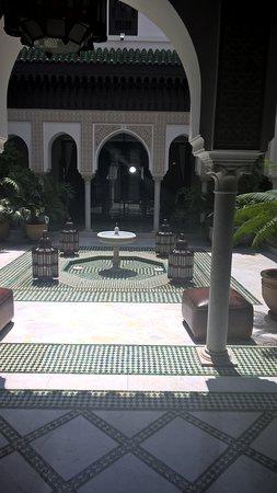 La Mamounia Marrakech: un cortile interno