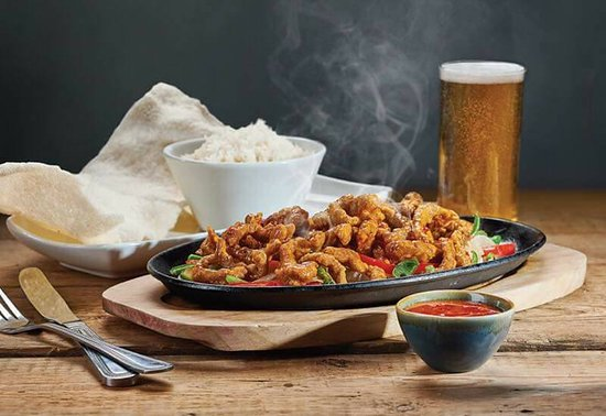 The Red Lion: Crispy Chili Beef