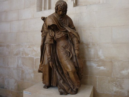 Eglise Saint-Michel: Saint Jean soutenant la Vierge en pâmoison