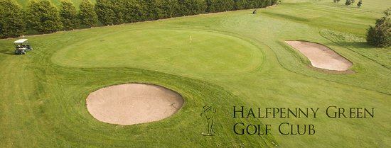 Dudley, UK: Halfpenny Green Golf Club & Driving Range