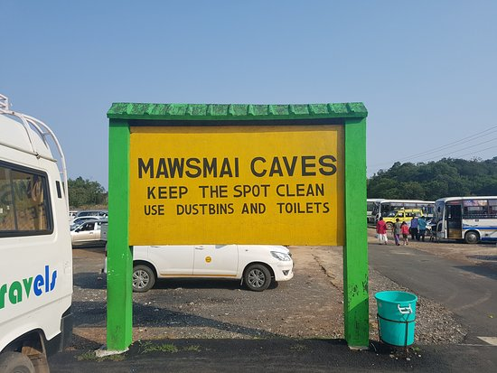Mawsmai Cave: destination point.