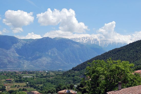 Panorama da Bugnara