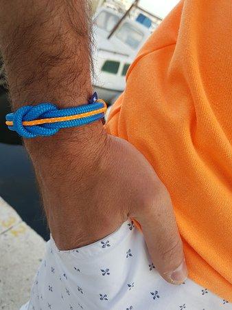 Break Time: Nautical bracelet. Croatian brand. Handmade in Croatia. What to buy from Croatia. Croatian handm
