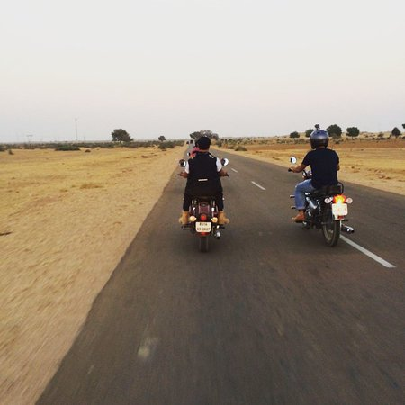 Freedom Riderss : The Desert Run Rajasthan