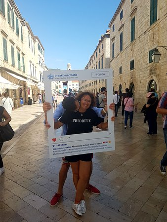 The two owners of Break Time Croatia. Family business. Buy local. Shopping in Dubrovnik.
