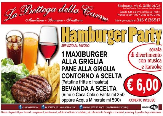 La Bottega Della Carne Braceria Trattoria : menu' su prenotazione con serata dedicata