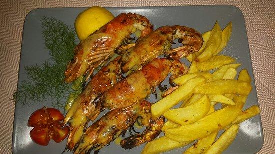 Kefalos Greek Cuisine & Bar: Scampi's