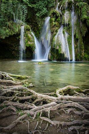 Les Planches-pres-Arbois, Frankrike: Une partie de la cascade