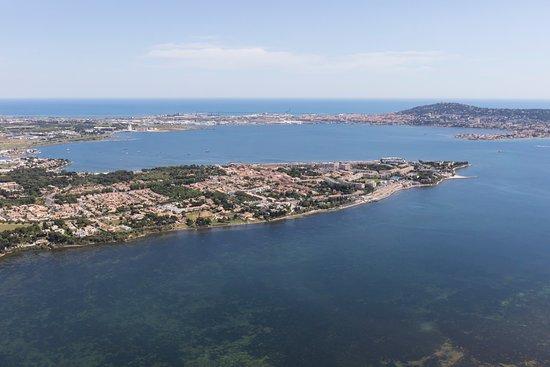 Balaruc-les-Bains, France : Presqu'île sur la lagune de Thau, à deux pas de la Mer Méditerranée