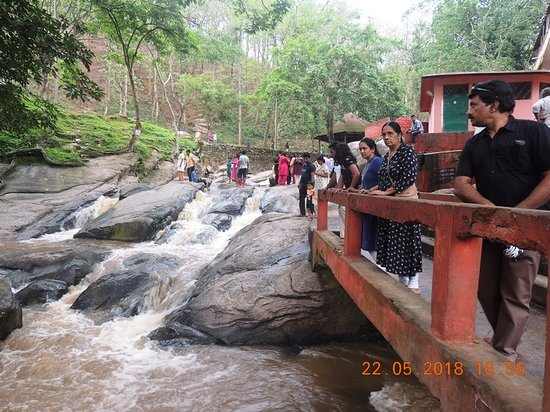 Vashistha Temple: our group members including my wife