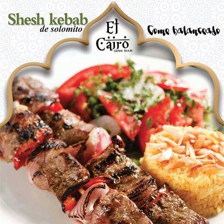 El Cairo - Cocina Arabe: Shesh kebab