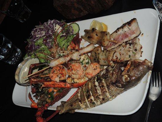 ENSO Restaurant & Bar Lounge: Sea Food Platter for 2