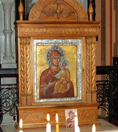 "Church of Saint Mary Magdalena: Смоленская икона божьей матери ""Одигитрия"""
