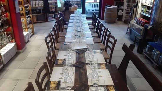 Gualdo Tadino, Włochy: Pronti per Degustazione Villa Rinaldi