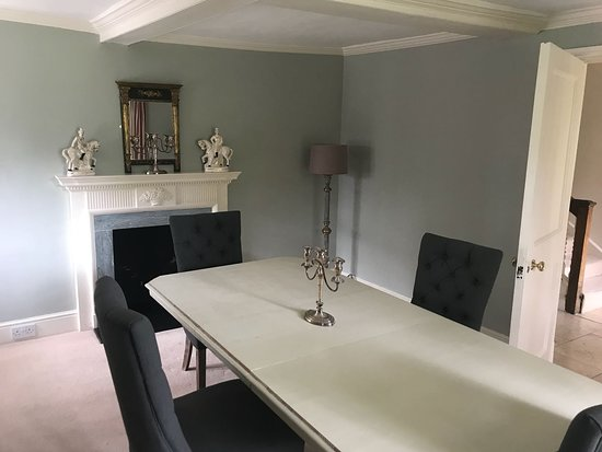 The Salutation: gate house dining room