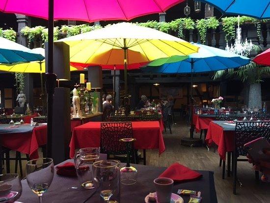 Epfig, Francja: tables