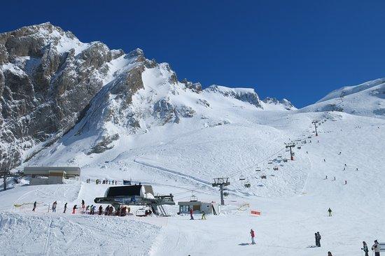 Gourette, France: Secteur Pène Blanque pour skieurs confirmés