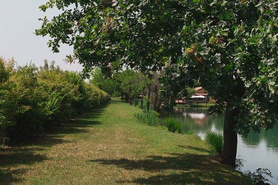Ristorante Ca' del Lago: Camminare attorno al lago