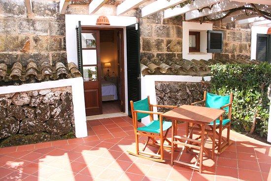 Rural Hotel Morvedra Nou: Terraza habitación doble