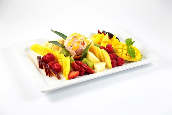 Restaurant Luigi Maarif: ASSIETTE DE FRUITS