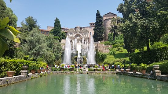Villa d'Este: Incantevole