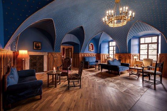 Hotel Zamek Karpniki: Sale bel-etage - sala barowa