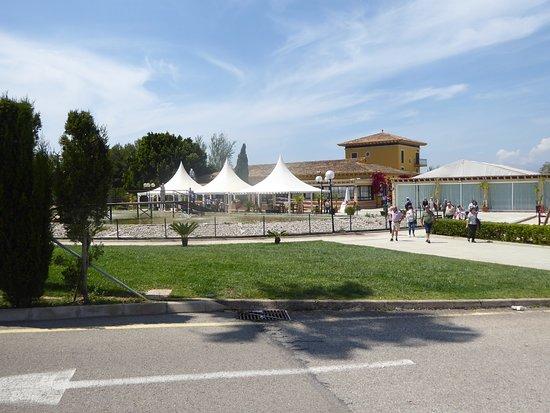 Balearen, Spanje: Vista desde el aparcamiento