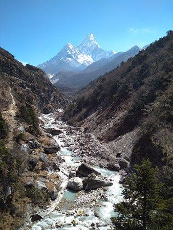 Adventure Club Treks and Expedition Mountain Flight : Beautiful Ama Dablam