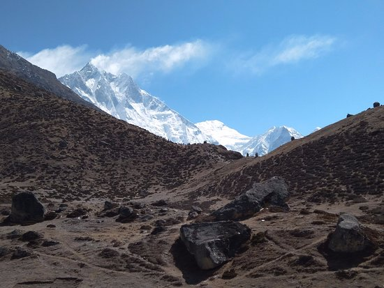 Adventure Club Treks and Expedition Mountain Flight : My favourite path was started to do