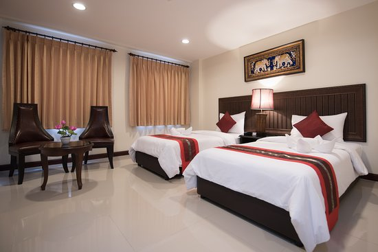 True Siam Rangnam Hotel: Superior room, two single bed (Twin bed)