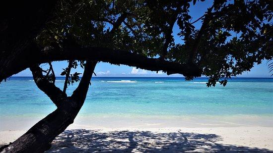 Silhouette Island, Sejšeli: la plage