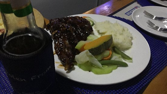Stumble Inn Beach Club: Must Try Pork Spare Ribs
