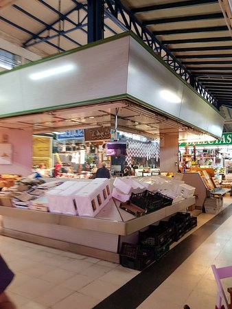 Mercado Vallehermoso: Great shopping centre
