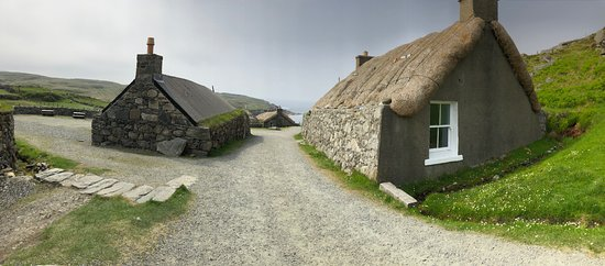 Gearannan Blackhouse Village照片