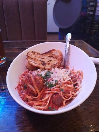 Burlington, CO: Spaghetti Meatballs