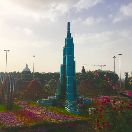 Dubai Miracle Garden: A great place to visit and fantastic for photos especially. The tickets are not too expensive an