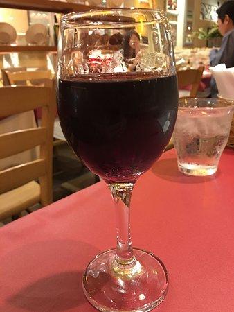 ピッツァ&パスタ パパミラノ 信濃町店, グラスワイン