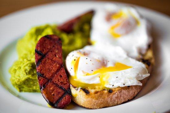 "Arlo's Balham : ""An Obligatory Avocado"" - on out Brunch menu, 7 days a week"