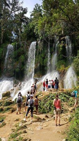 El Nicho Waterfalls: cascate