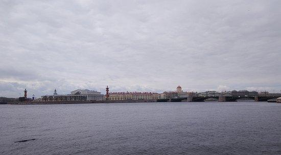 Memorial Sign Strelka Of Vasilievskiy Island照片