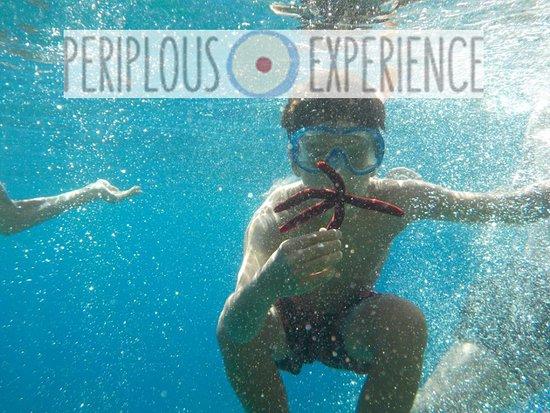 children enjoy - sea kayak trip with Periplous experience