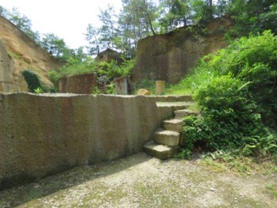 Uriwari Sekitei Park: 石切り場跡
